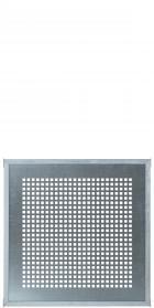 Stahlplatte als Sichtschutz, zum Bau einer Sichtschutz-Wand, CUBIC, auch als Zaun-Element