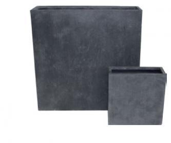 garten im quadrat sichtschutz element aus stahl moderne rost optik f r den garten. Black Bedroom Furniture Sets. Home Design Ideas
