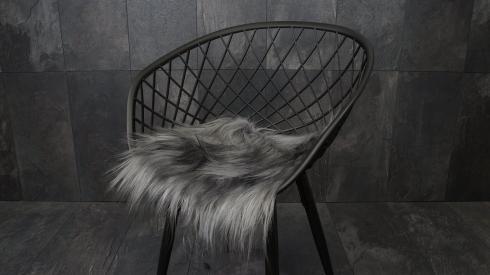 Sitzauflage Ziegenfell, lange Haare, kuschelweich, 9 verschiedene Farben