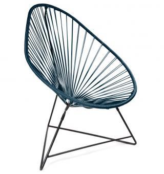 Acapulco Chair Stuhl/Sessel, Originalform, handgearbeitet, UV-Schutz, 19 Farben!