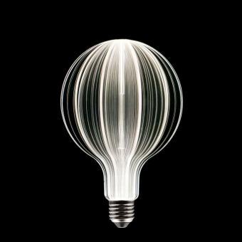 LOOP Design-LED-Leuchtmittel, Plexiglas, extra groß,verschiedene Varianten Weiche Welle
