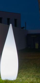 Outdoor-Leuchte CLASSIC, 120/150 cm, mit Kabelanschluss 120 cm Höhe