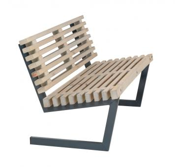 Design-Garten-Sofa aus Holz, Loft-Style