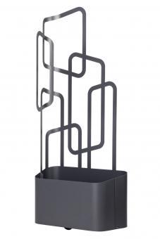 Paro Outdoor-Pflanzgefäß, weiß oder anthrazit, 175 cm Höhe als Sichtschutz-Element, auf Rollen