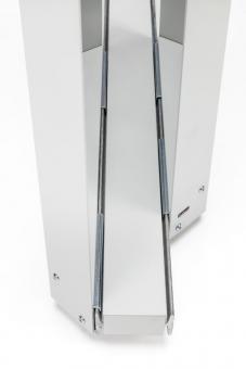 Stahl-Schiene für Befestigung der Separo-Elemente