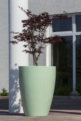 Rubus - leichtes Pflanzgefäß aus Fiberglas-Kunststoff, in 213 RAL-Farben. Wir fertigen in Ihrer Lieblingsfarbe!