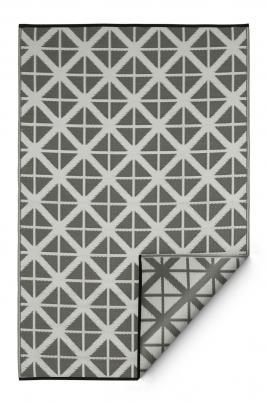 garten im quadrat outdoor teppich manchester grau wei. Black Bedroom Furniture Sets. Home Design Ideas