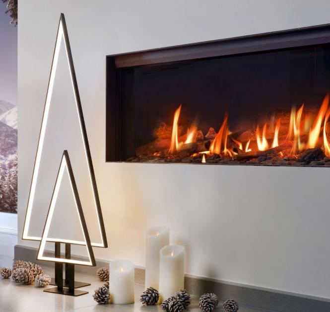 Moderne Leuchte Tannenbaum, LED, Weihnachts-Beleuchtung