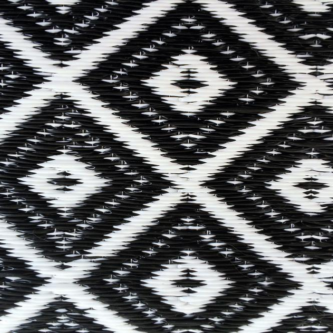 garten im quadrat outdoor teppich arabien schwarz wei 150 x 240 cm. Black Bedroom Furniture Sets. Home Design Ideas