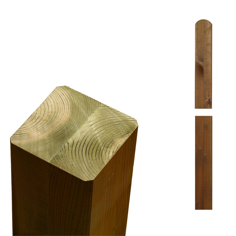garten im quadrat pfosten holz teak lasur f r sichtschutz und zaun cubic. Black Bedroom Furniture Sets. Home Design Ideas