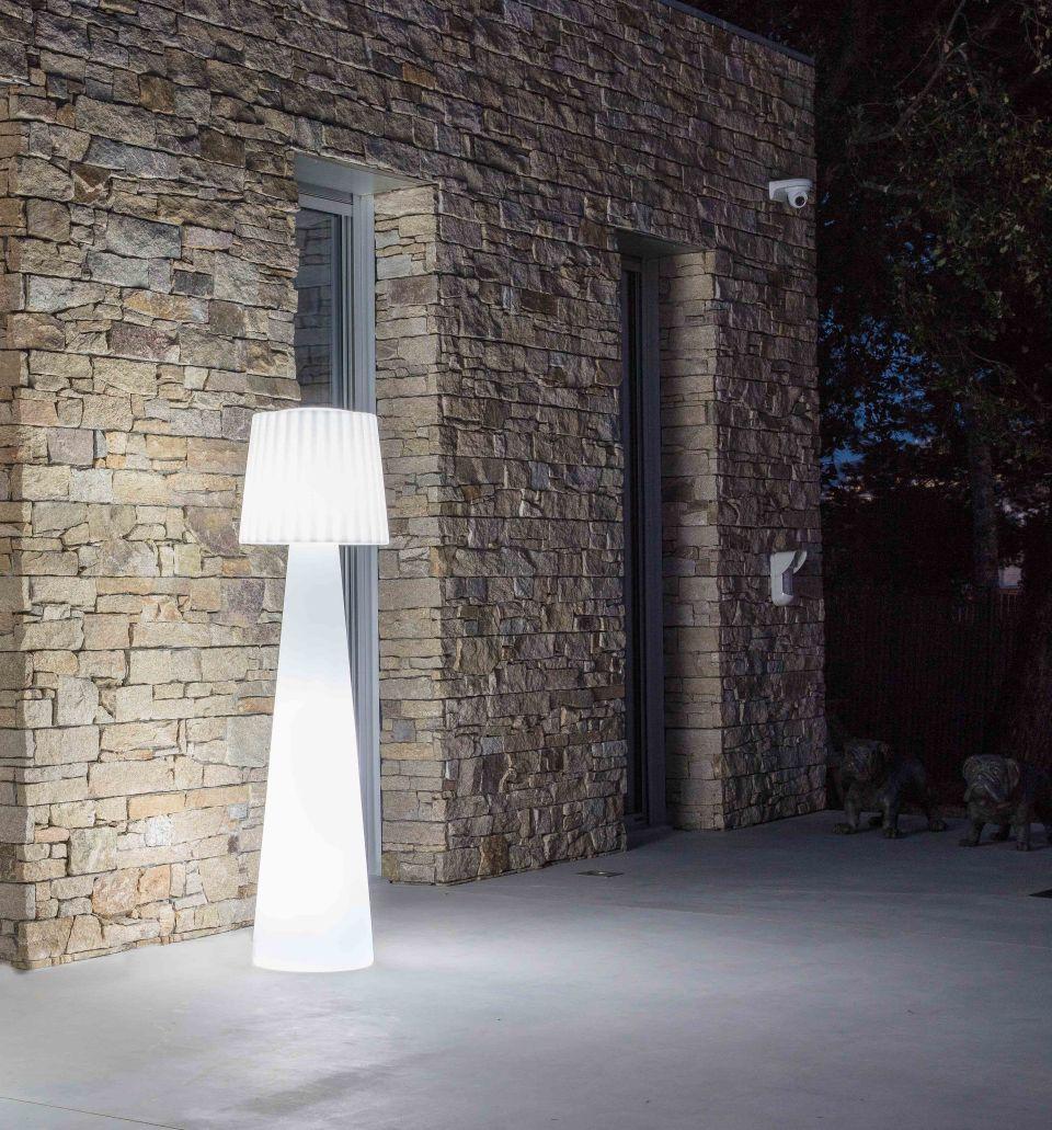 Garten Im Quadrat Outdoor Stehleuchte Lady Designer Stehlampe