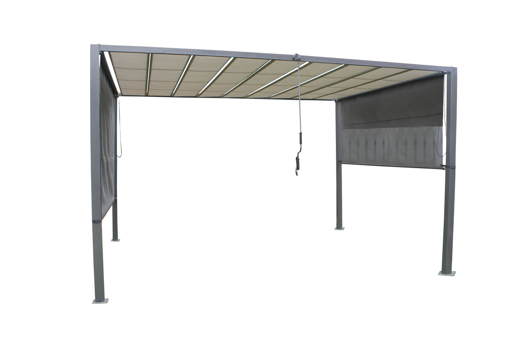garten im quadrat gro e design garten pergola mit. Black Bedroom Furniture Sets. Home Design Ideas