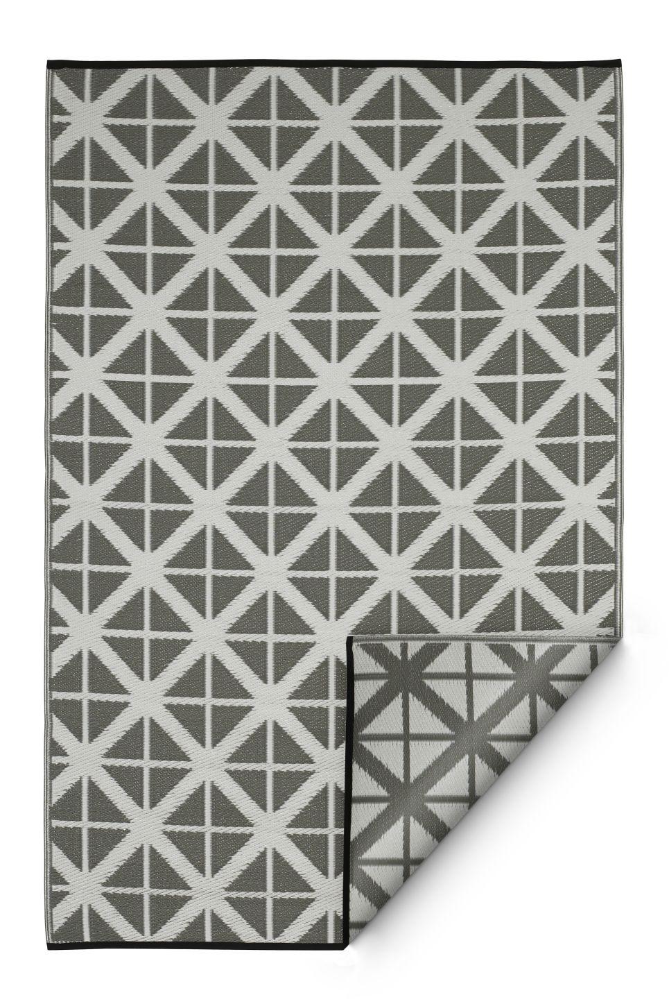 garten im quadrat outdoor teppich manchester grau weiss With garten planen mit balkon teppich grau
