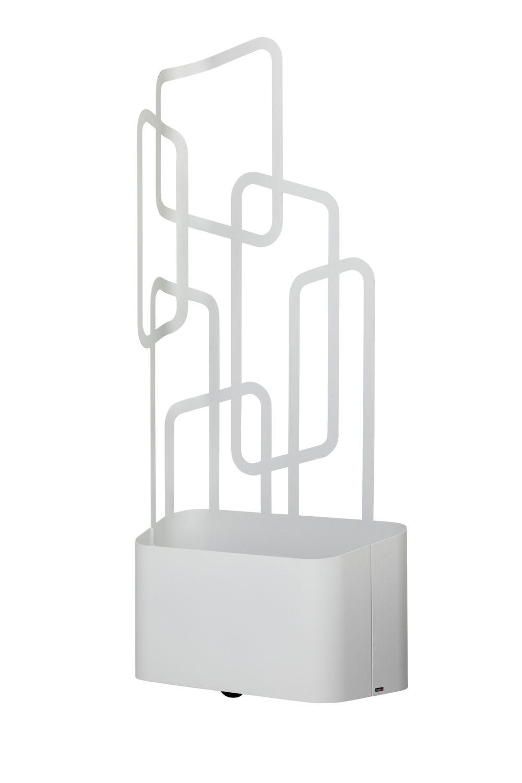 garten im quadrat pflanzk bel paro wetterfest inkl rankhilfe lichtgrau mit wasserdichtem. Black Bedroom Furniture Sets. Home Design Ideas
