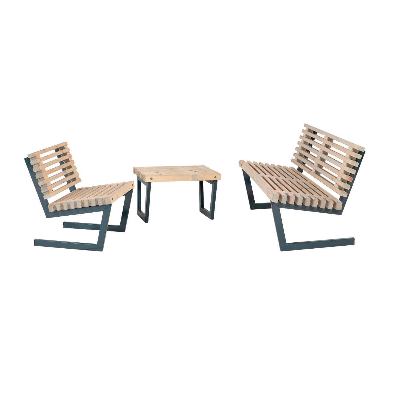 garten im quadrat garten sitzgarnitur holz kleiner. Black Bedroom Furniture Sets. Home Design Ideas