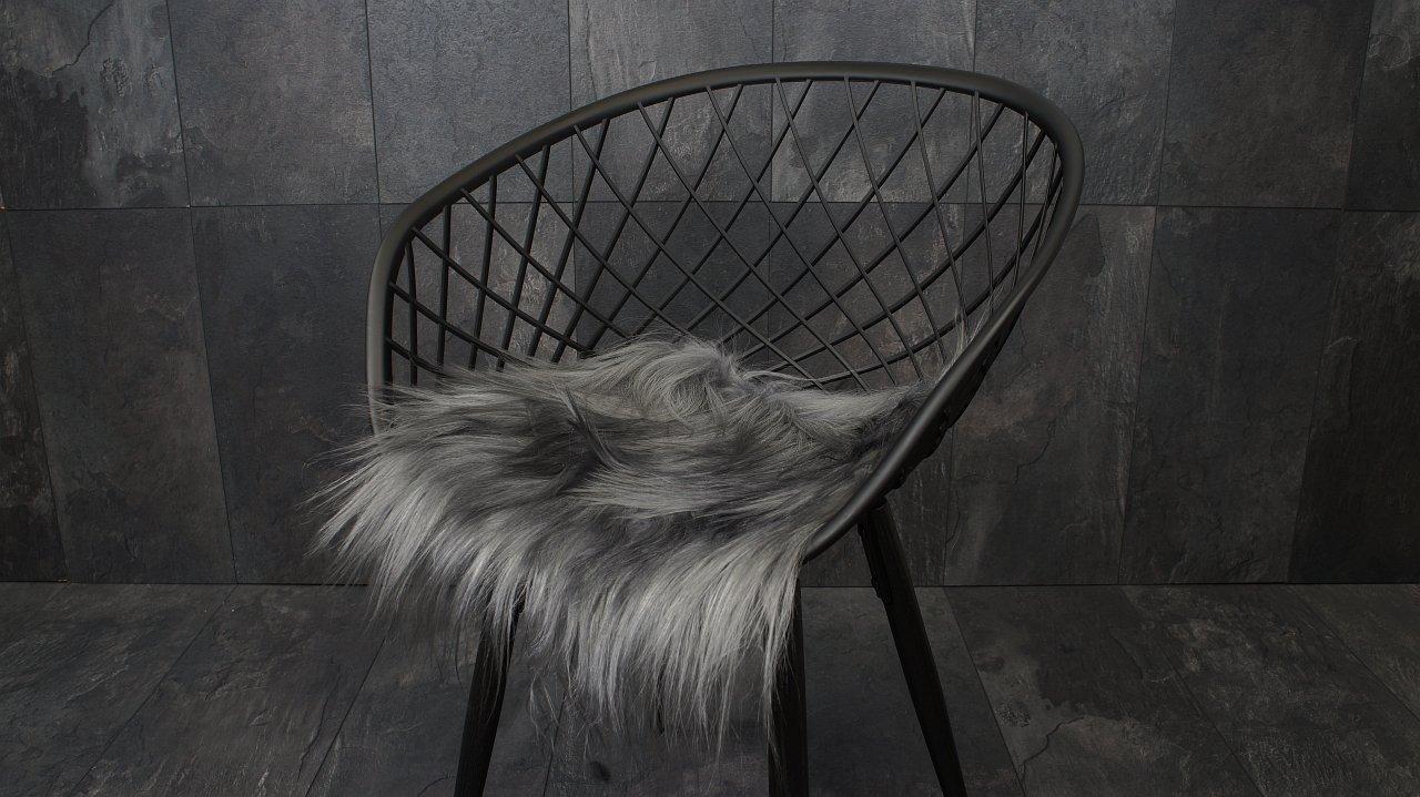 garten im quadrat sitzauflage ziegenfell lange haare kuschelweich 9 verschiedene farben. Black Bedroom Furniture Sets. Home Design Ideas