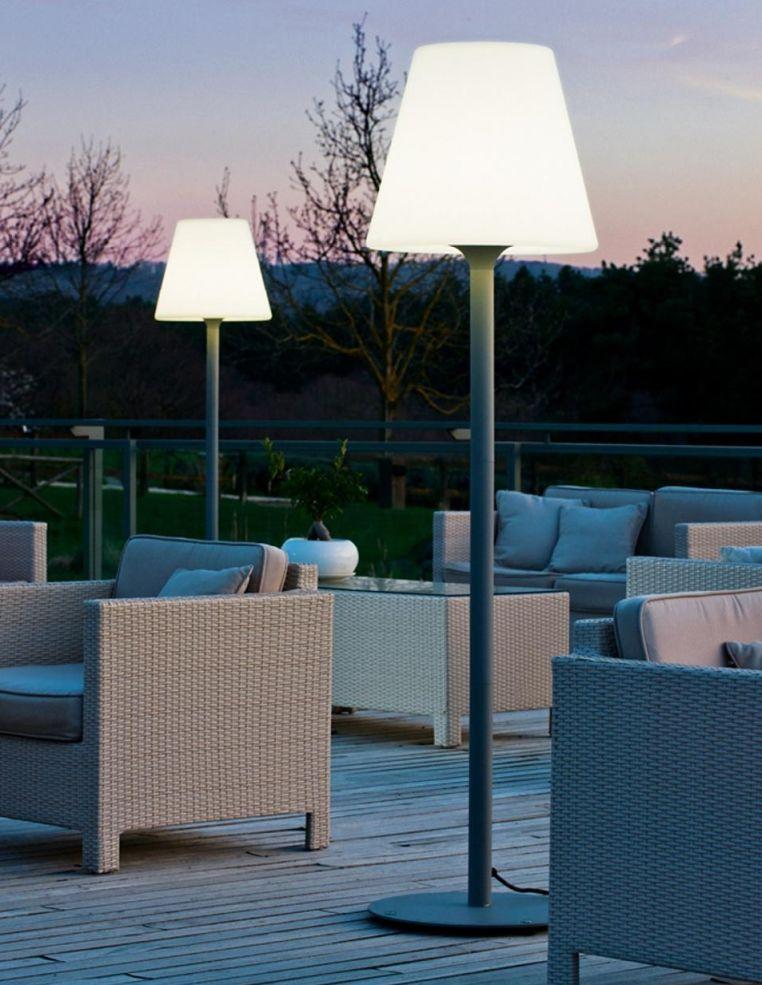Garten Im Quadrat Outdoor Stehleuchte Standy Designer Stehlampe