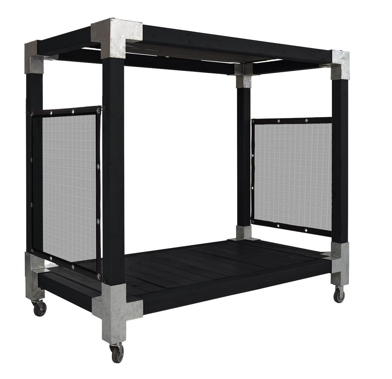 himmelbett garten swalif. Black Bedroom Furniture Sets. Home Design Ideas
