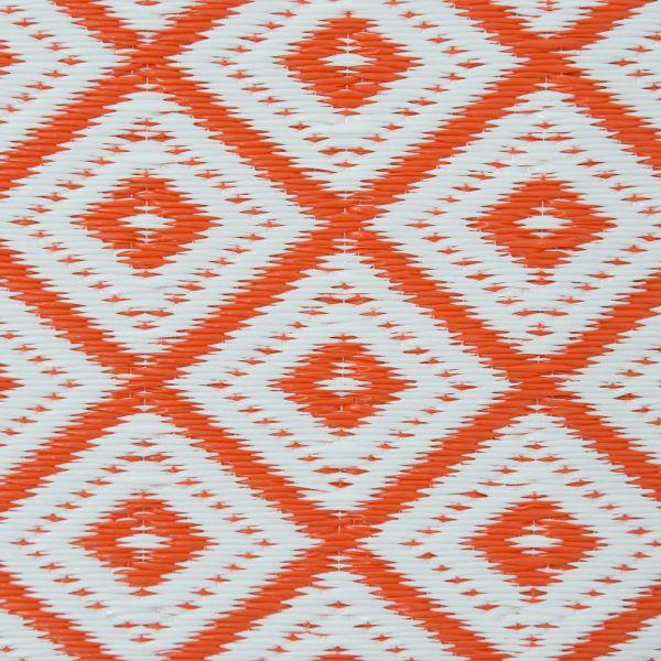 garten im quadrat outdoor teppich arabien orange wei. Black Bedroom Furniture Sets. Home Design Ideas